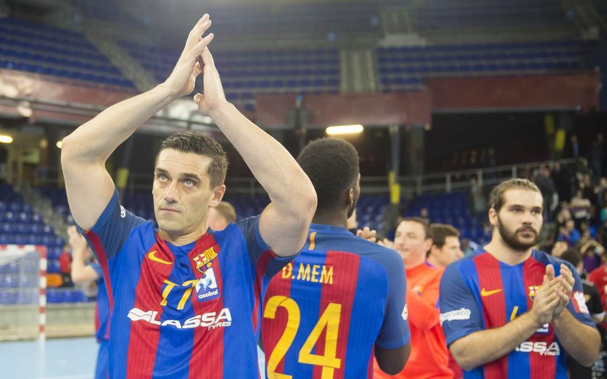 FC Barcelona Lassa – Abanca Ademar: Victòria d'infart per continuar sumant (26-25)
