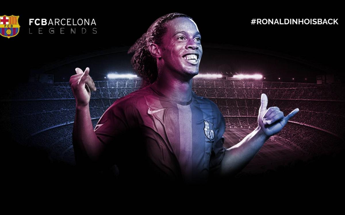 Ronaldinho, new FC Barcelona ambassador