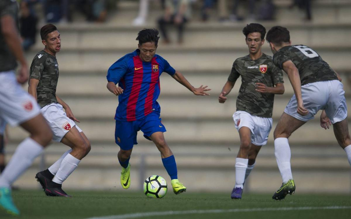 [U19] San Francisco 0-0 FC Barcelona: Valuable point to stay top (0-0)