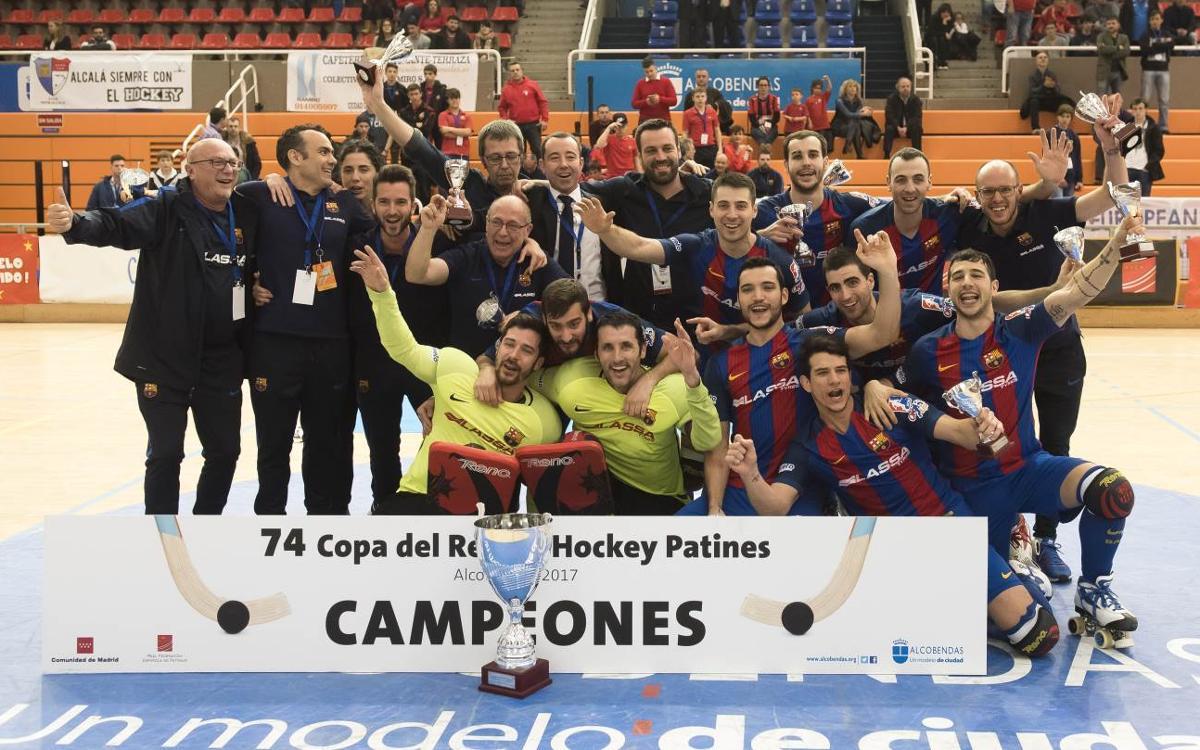 Reus Deportiu - FC Barcelona Lassa: ¡Campeones de Copa! (3-4)