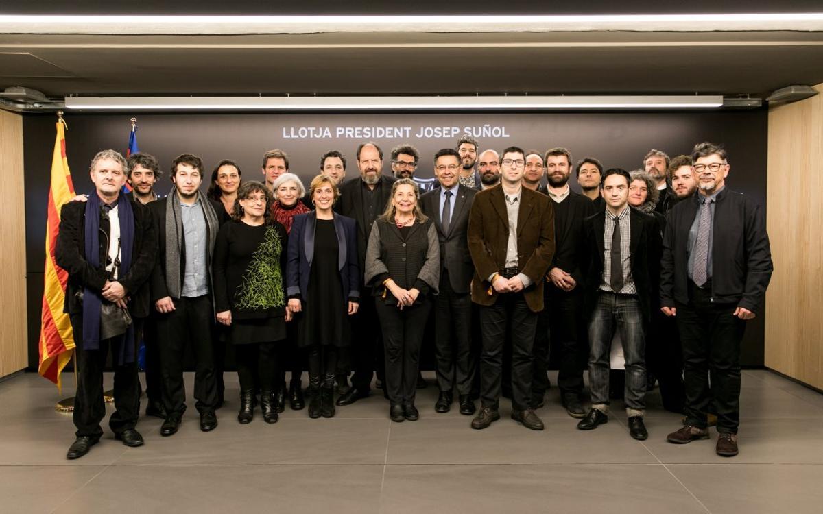 El cine catalán, en el Palco President Suñol