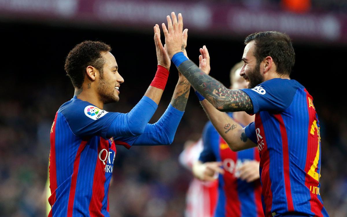 FC Barcelona – Athletic Club: Efectius en la cursa per la Lliga (3-0)