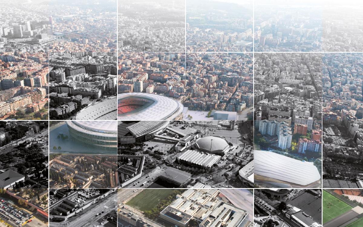 El Barça presenta la propuesta de modificación urbanística en el ámbito de Les Corts para impulsar el Espai Barça