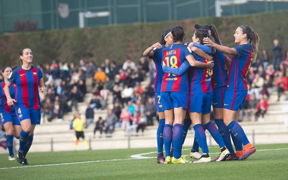 Zaragoza CFF v FC Barcelona Women: Attacking onslaught (0-6)