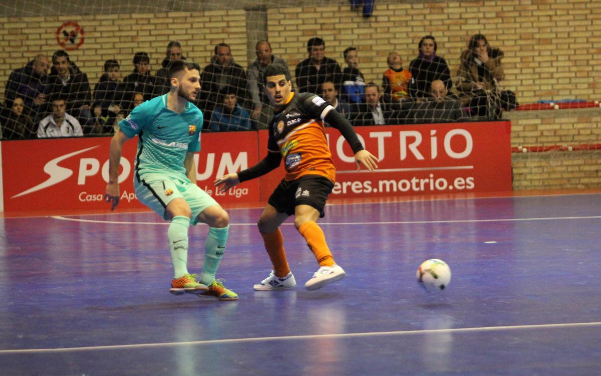 Aspil Vidal Ribera Navarra v FC Barcelona Lassa: Key comeback victory (2-3)