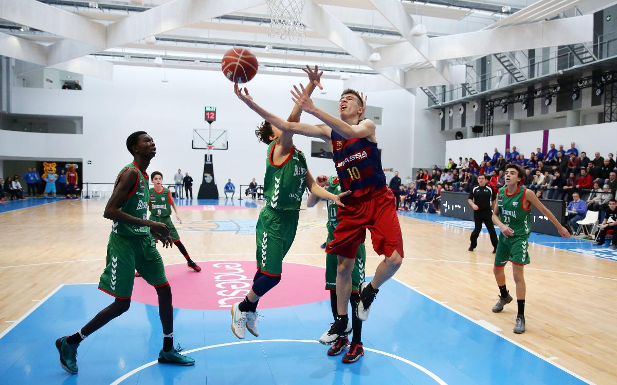 L'Infantil A del Barça Lassa, classificat per a les semifinals de la Minicopa