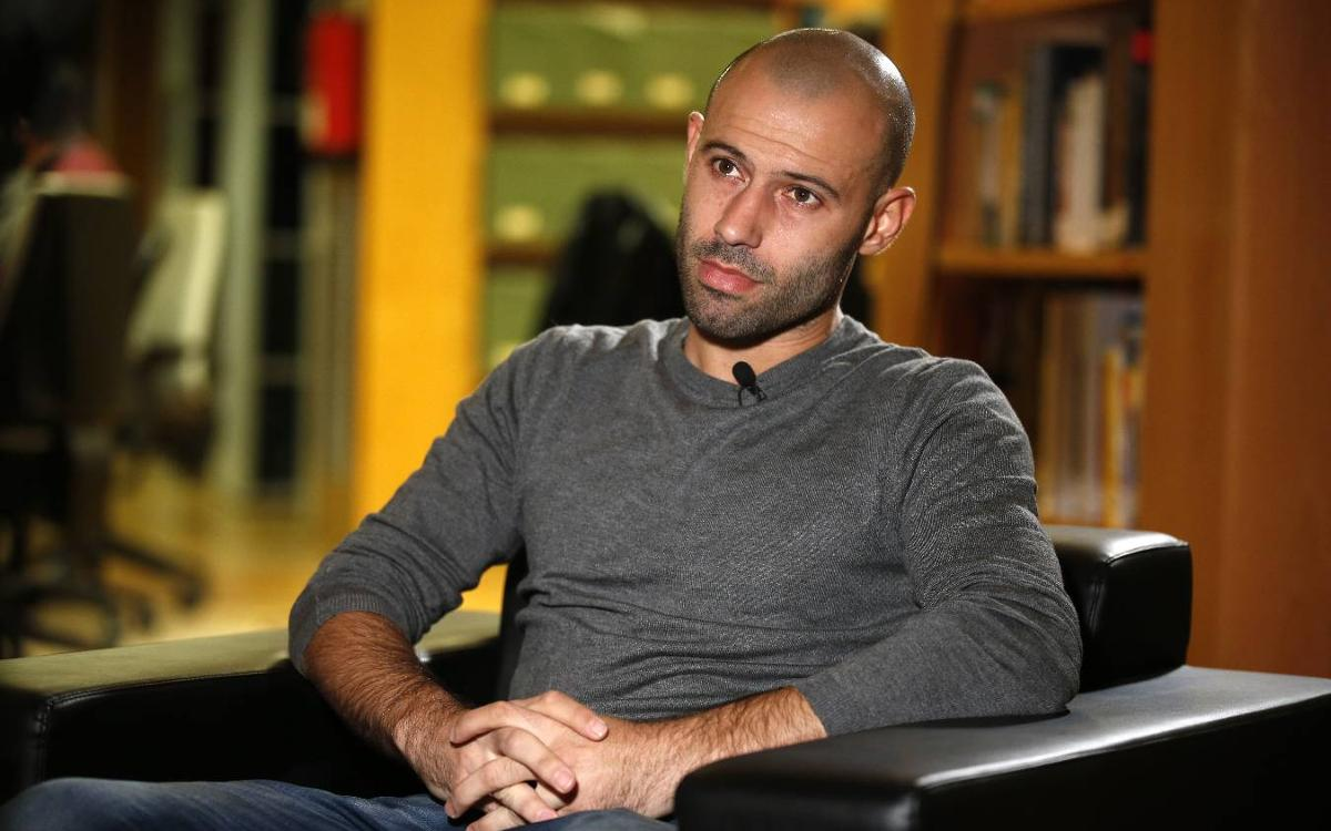 Javier Mascherano: None of this would have been possible without dedication