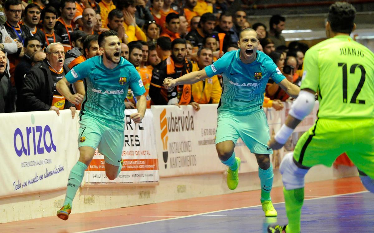 Aspil Vidal Ribera Navarra – FC Barcelona Lassa: Remontada de orgullo clave para la Liga (2-3)