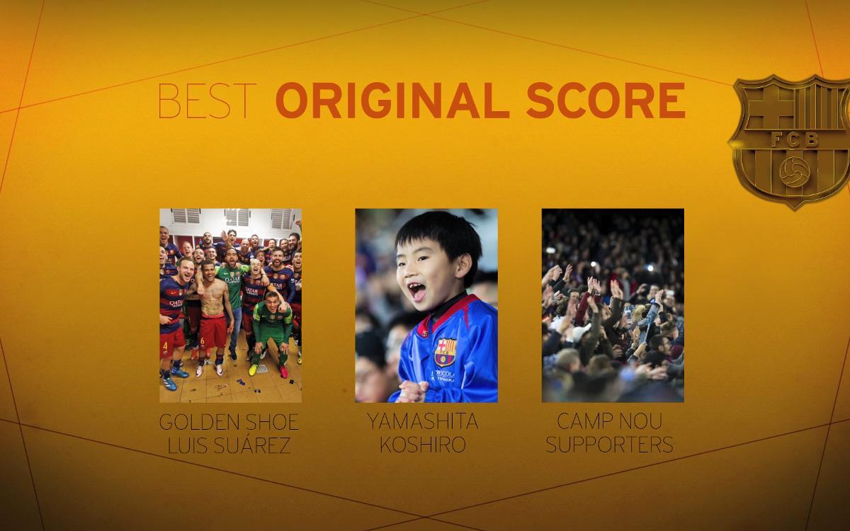 バルサ・オスカー:ベスト・サウンドトラック賞