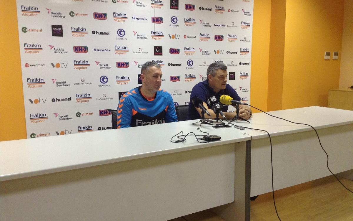 """Pascual: """"El partit davant de Granollers és un partit de Champions"""""""