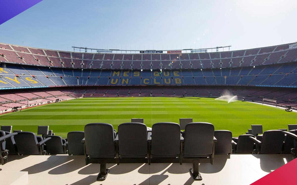 Camp Nou ready to host the first European Regional Final of the PES League