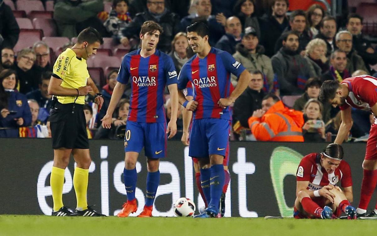 Luis Suárez and Sergi Roberto to miss Copa del Rey final