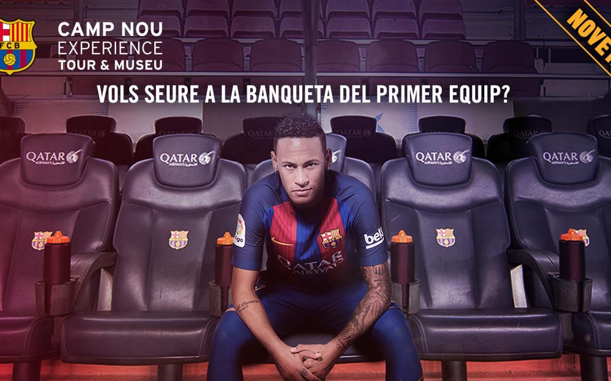 Què se sent a la banqueta del Camp Nou?