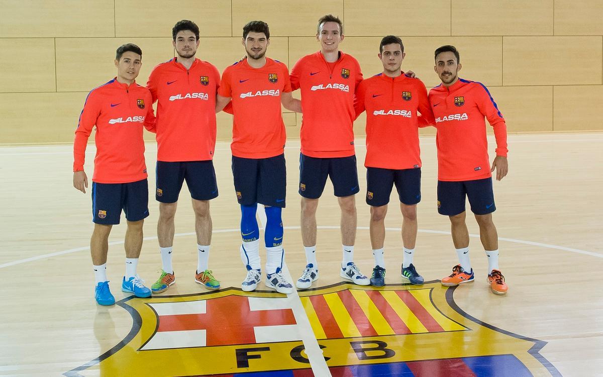 Xavi Cols i Sergio ja s'entrenen amb el grup