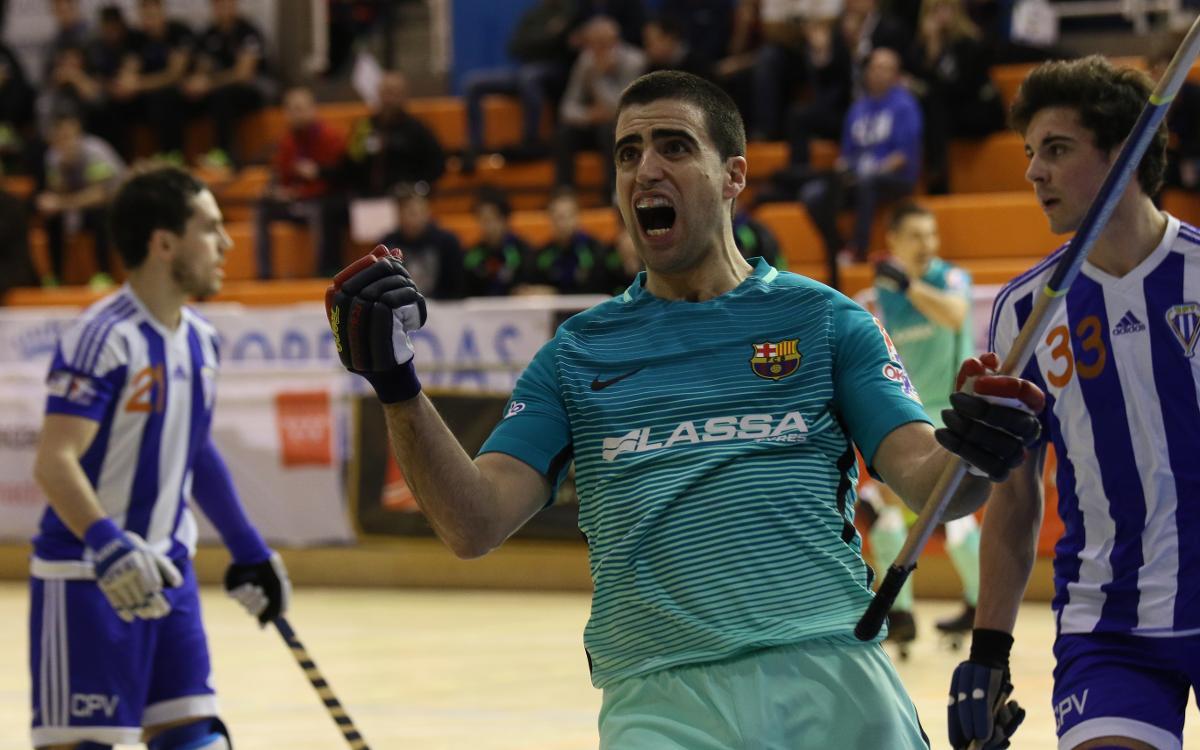 FC Barcelona Lassa - CP Voltregà: Victoria trabajada para acceder a semifinales (6-3)