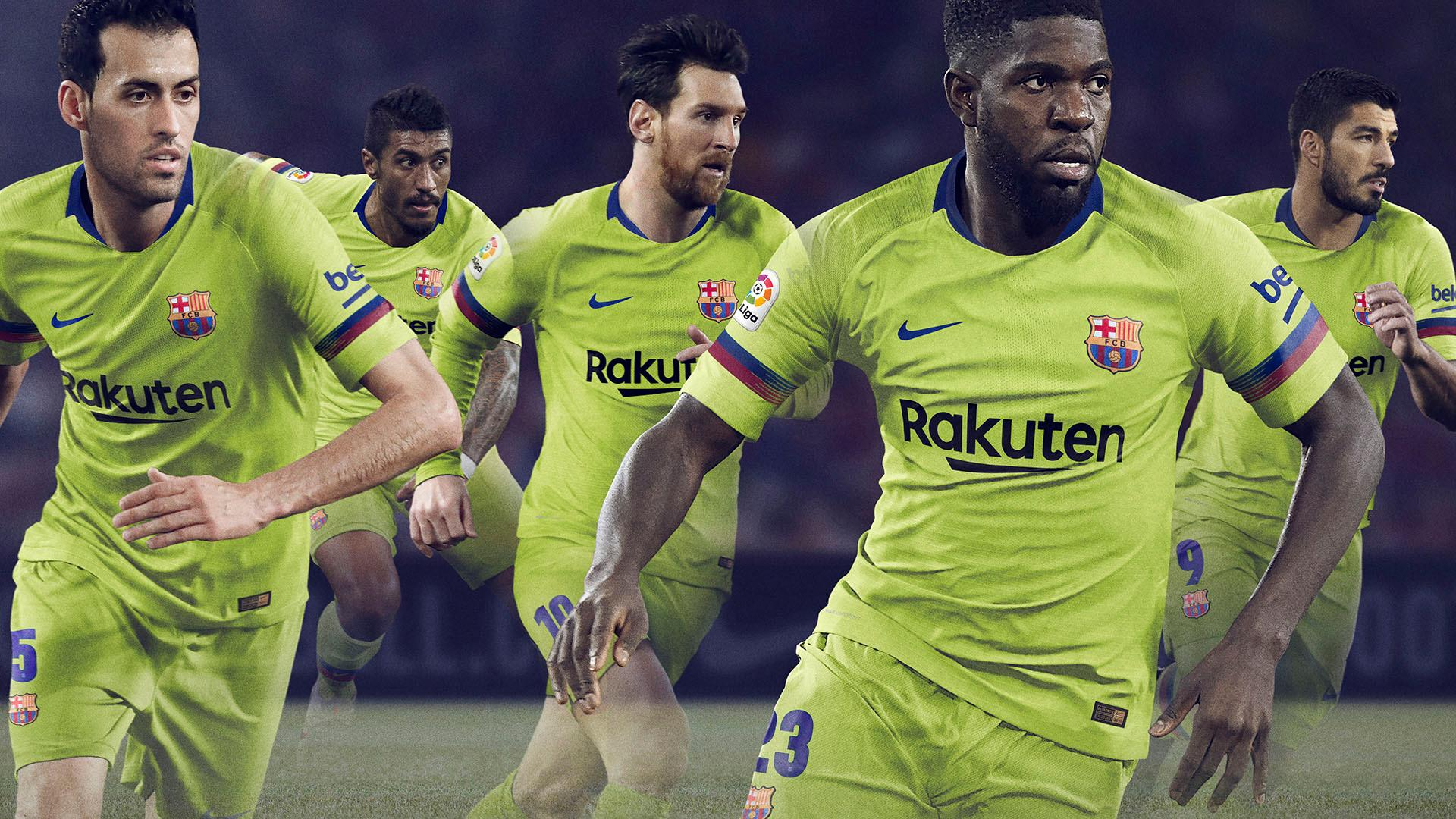 Fc Barcelona To Wear Yellow Away Kit In 2018 19