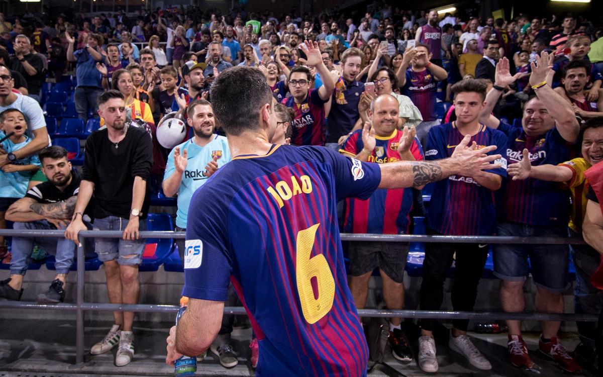 Joao Batista acaba contracte i no seguirà al Barça Lassa