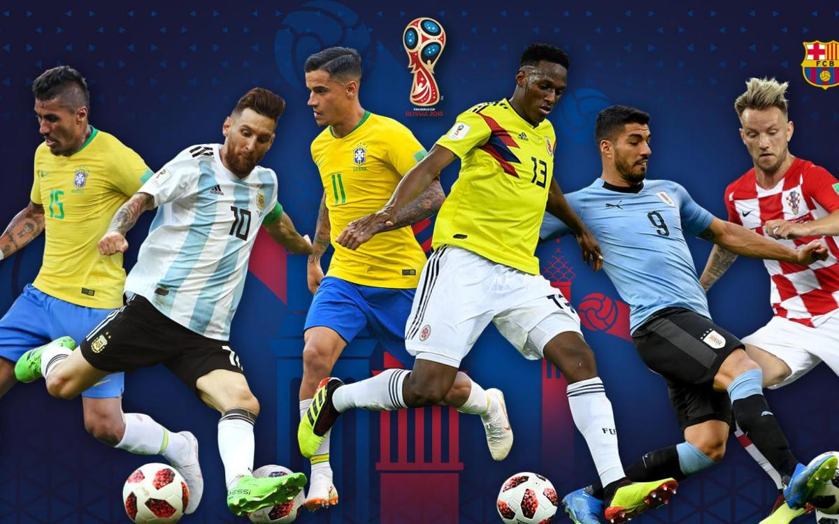 Barça break into double figures for 2018 World Cup goals
