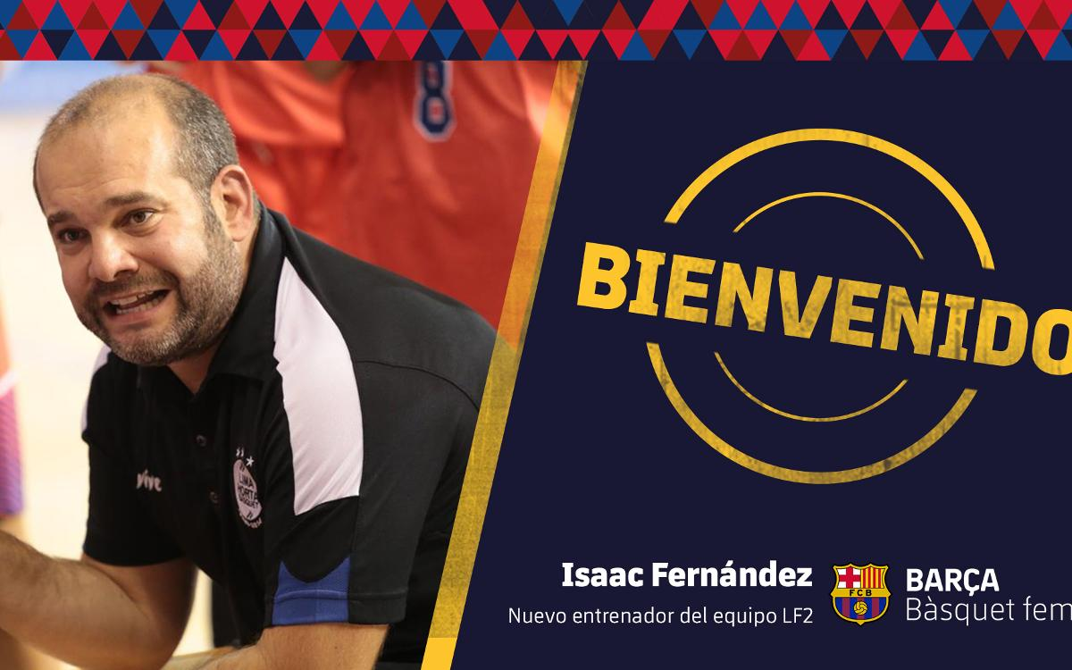 Isaac Fernández, nuevo entrenador del Barça CBS