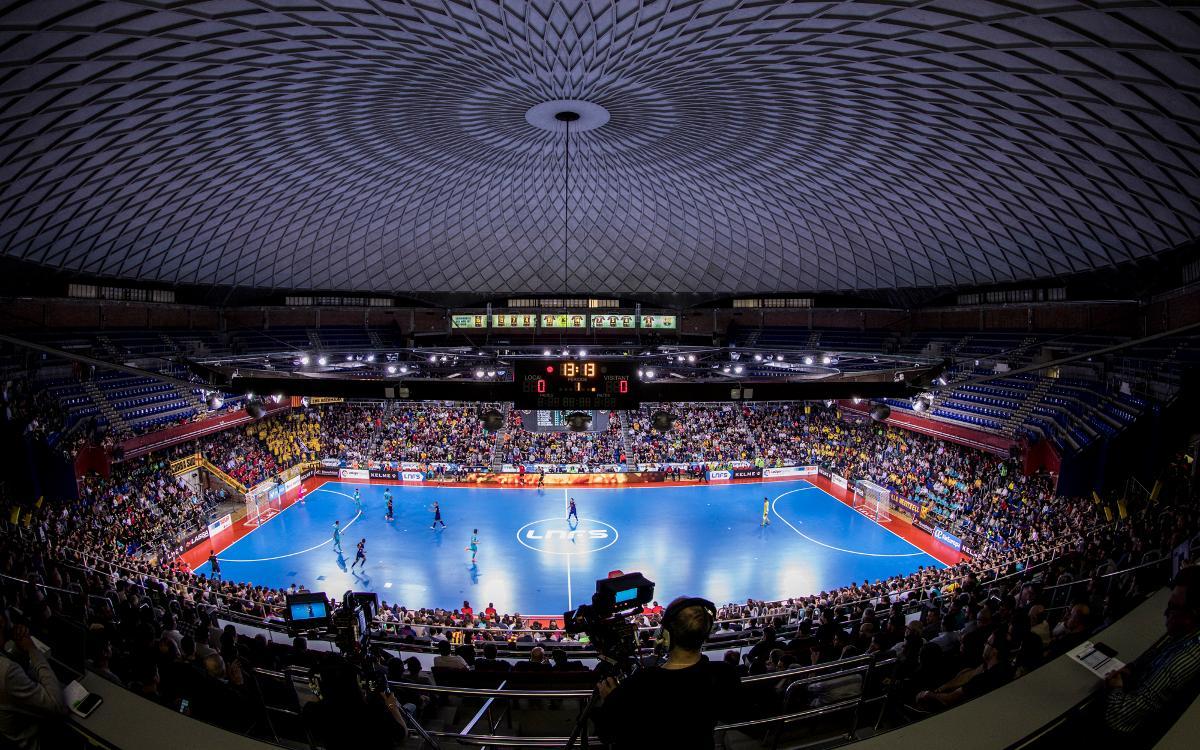 El Palau Blaugrana, sede de la Copa Cataluña 2018 de fútbol sala