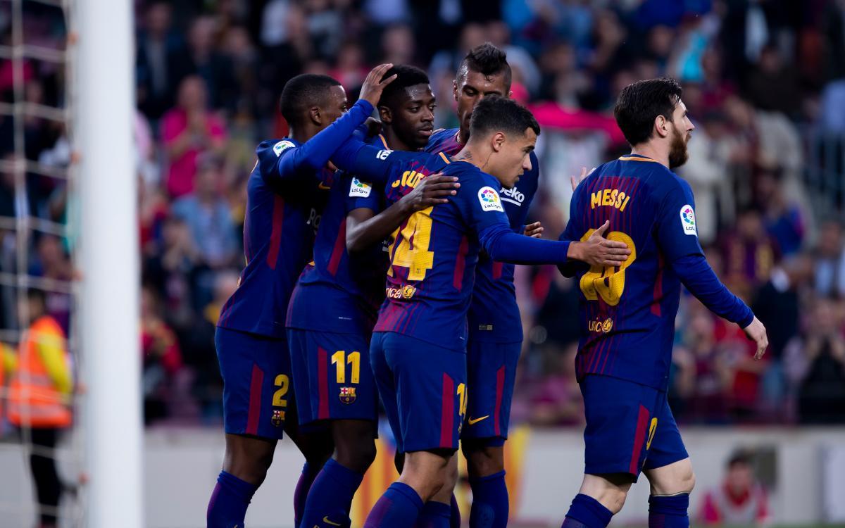 FC Barcelona 5 Villarreal 1 (HQ)
