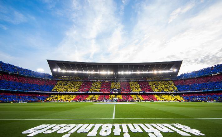 El Camp Nou, escenari de grans moments