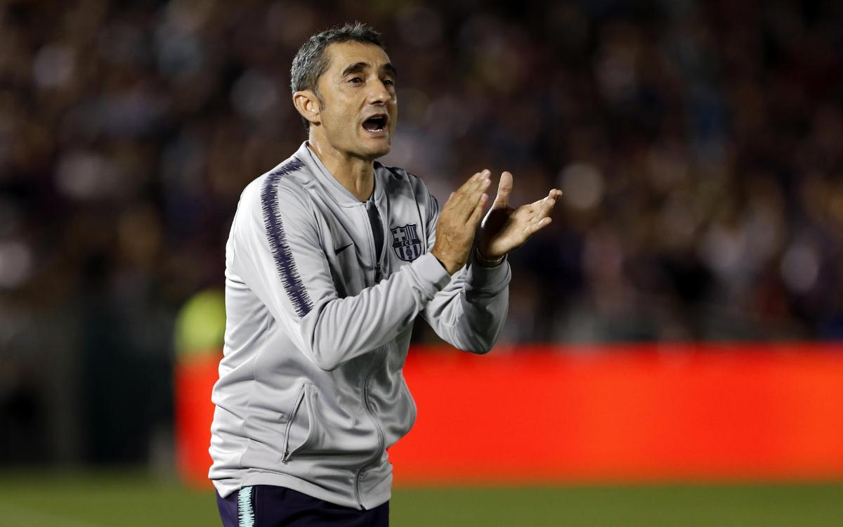 Ernesto Valverde: There was a lot to like out there