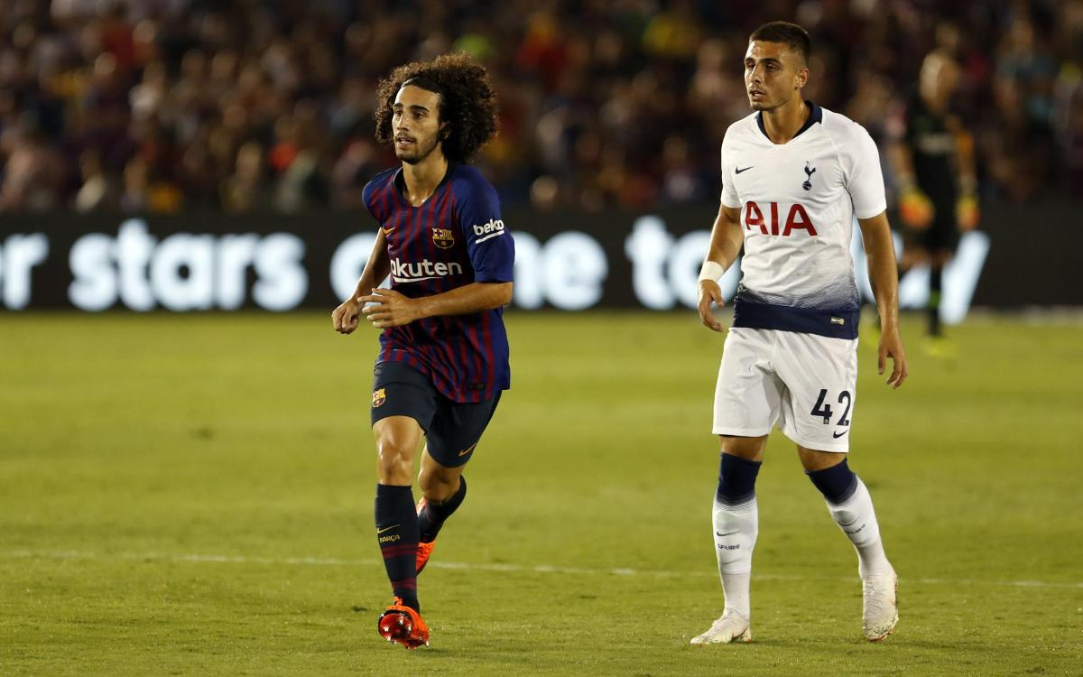 Barça activate Cucurella buy-back clause