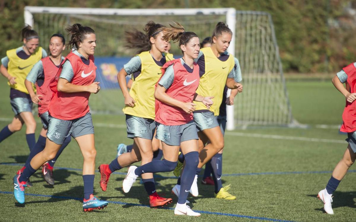 Arranca el Barça Femenino 2018/19
