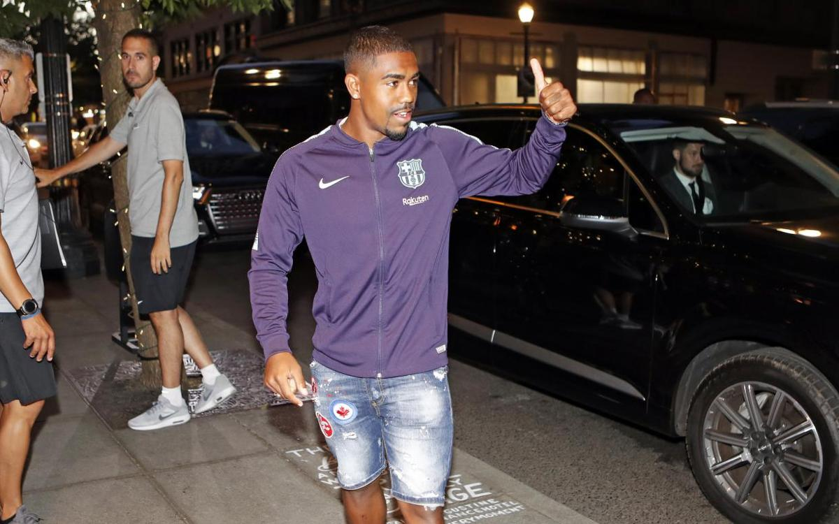 Malcom to be presented on Thursday in Portland