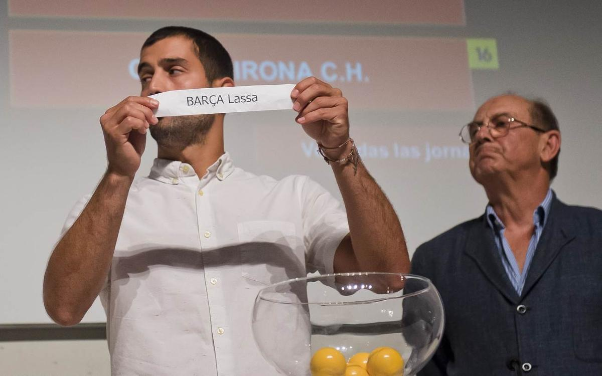El Barça Lassa comenzará la OK Liga contra el Liceo