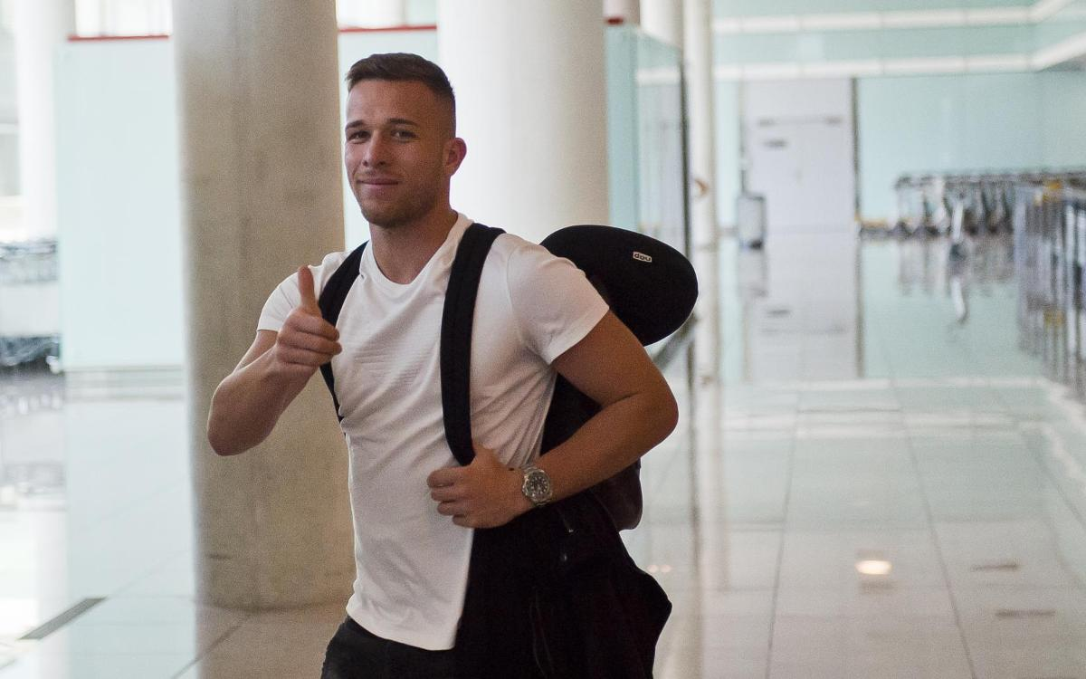 Arthur llega este miércoles a Barcelona