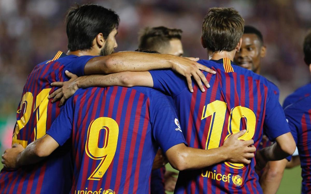 FC Barcelona – Tottenham Hotspur: Buenas sensaciones en el estreno culé (2-2)