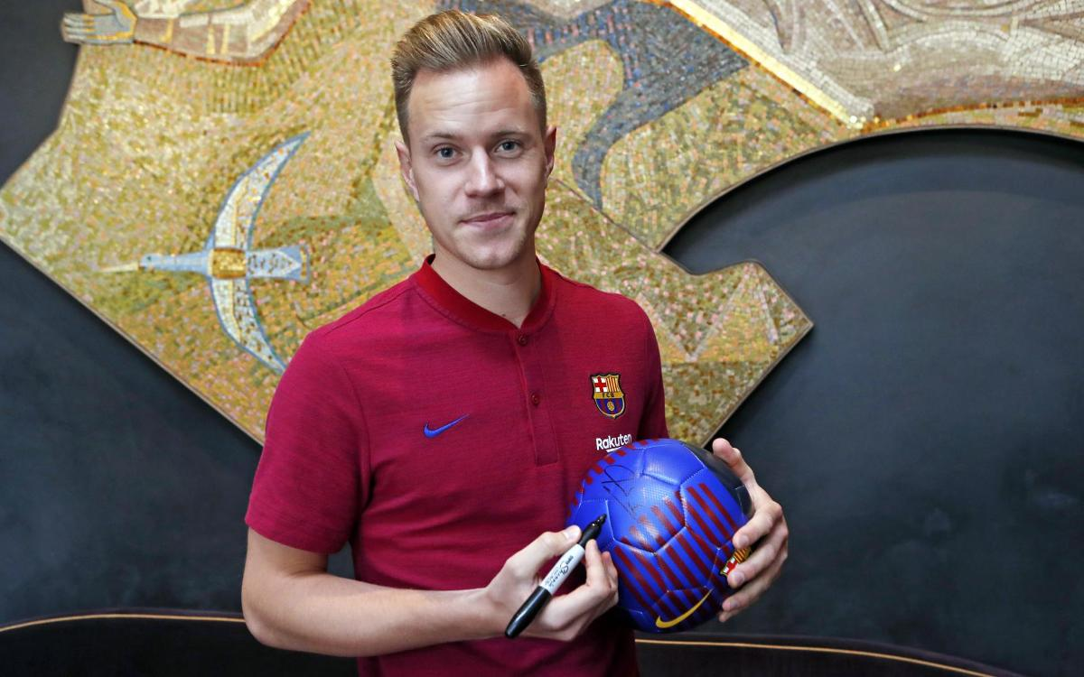 Ter Stegen ready to go