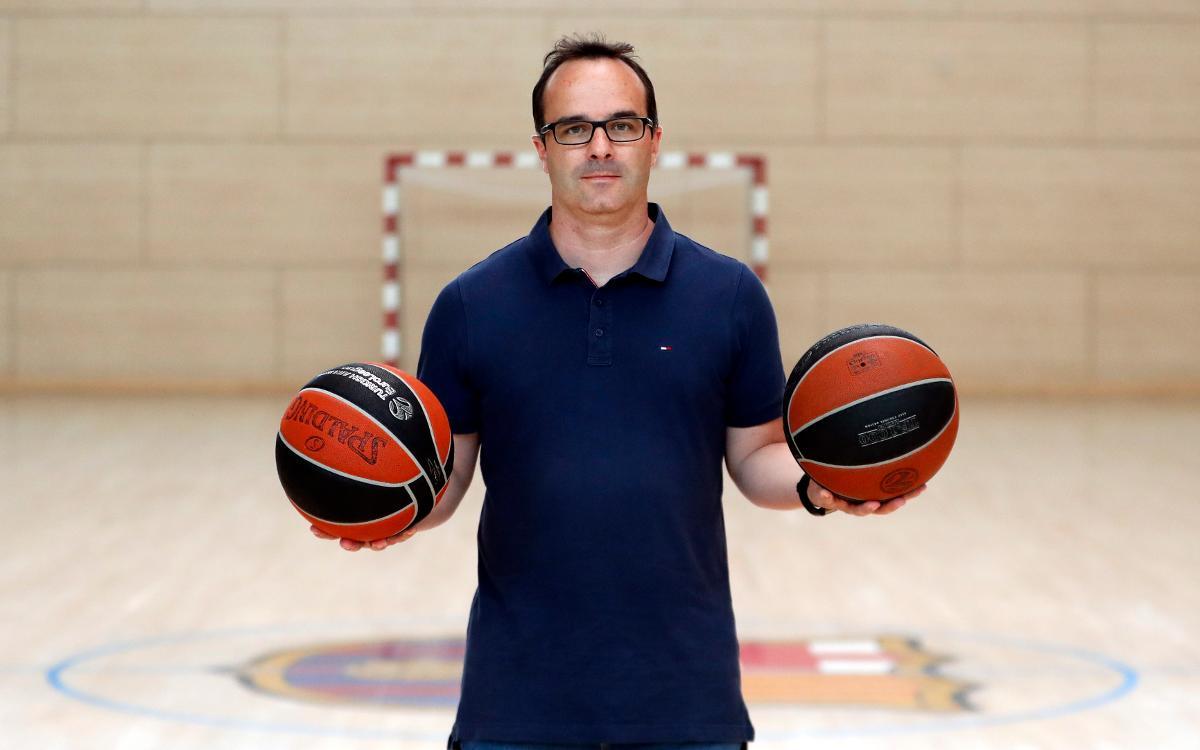 Diego Ocampo, nou entrenador del Barça Lassa B