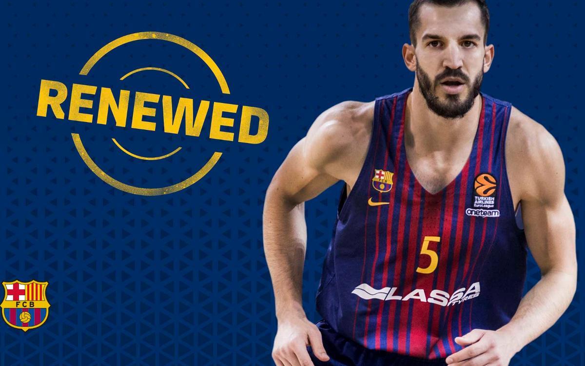 Pau Ribas to stay at Barça Lassa until 2021