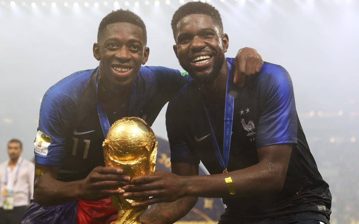 Umtiti and Dembélé are World Cup winners