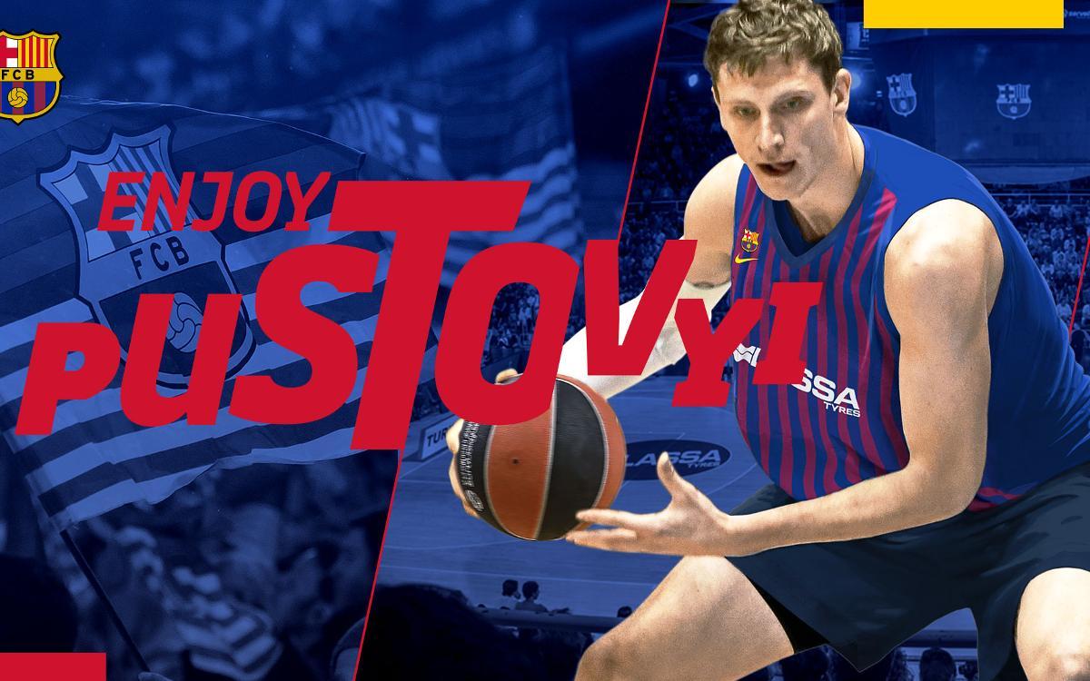 Artem Pustovyi signs for Barça Lassa