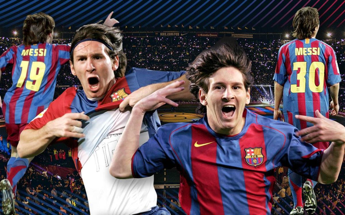 Vidéo - Les plus beaux buts de Messi avant de porter le '10'