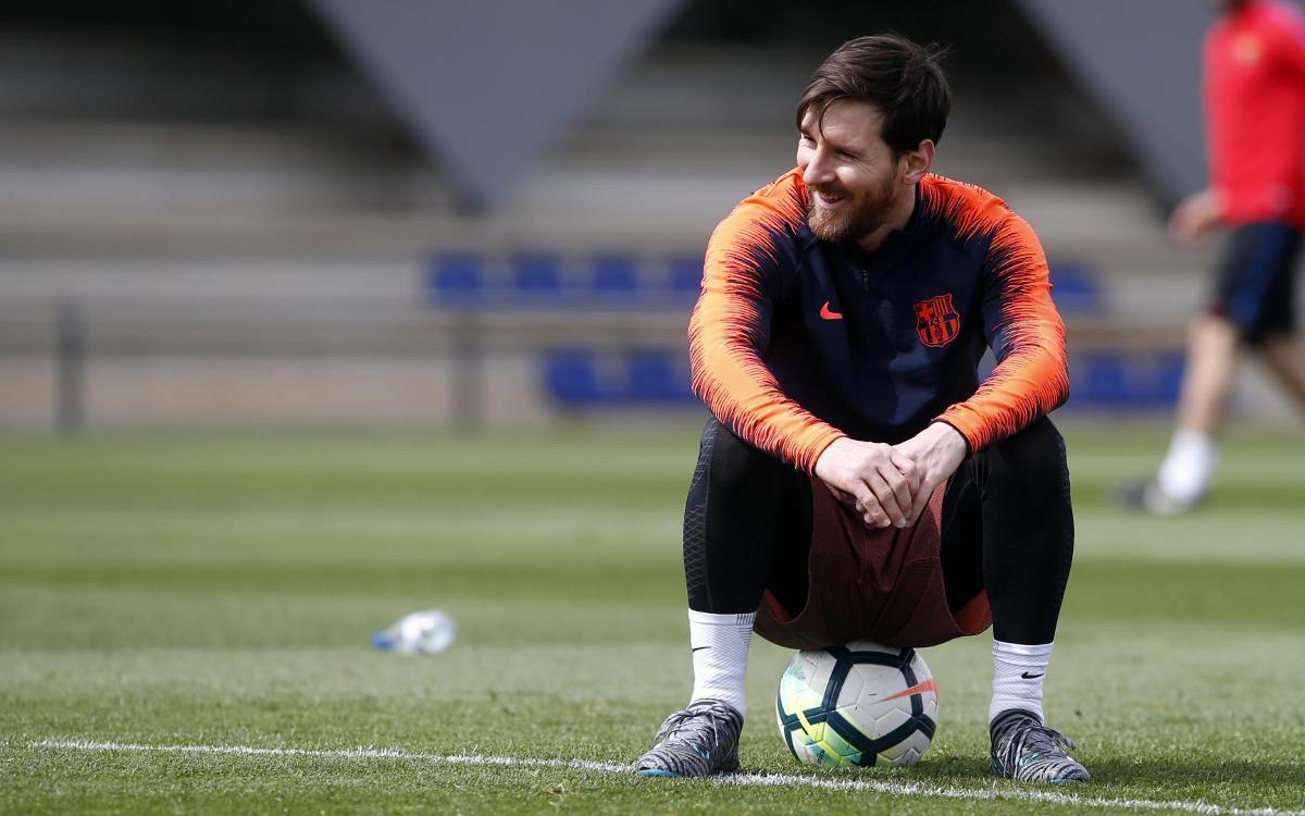 Messi, Piqué, Jordi Alba i Sergio s'incorporen dimarts