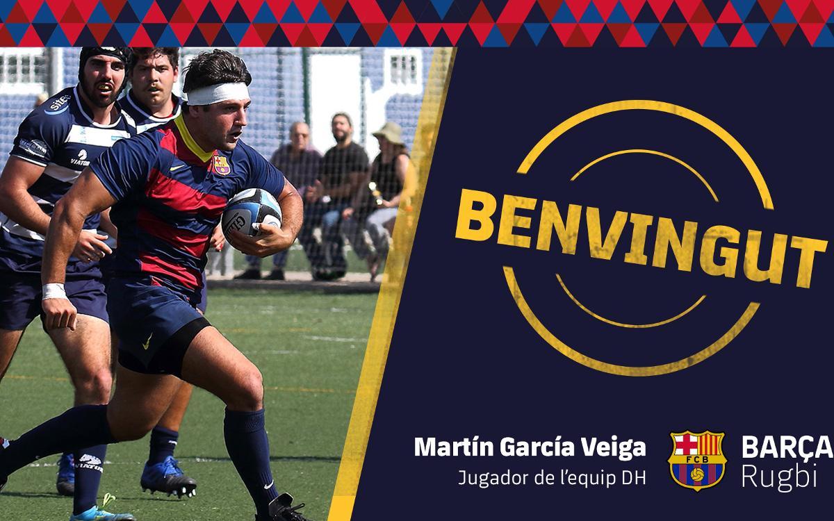 Martín García Veiga vuelve a Barcelona