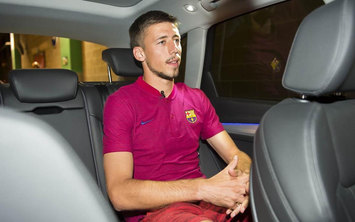 Vidéo - En voiture avec Clément Lenglet du FC Barcelone