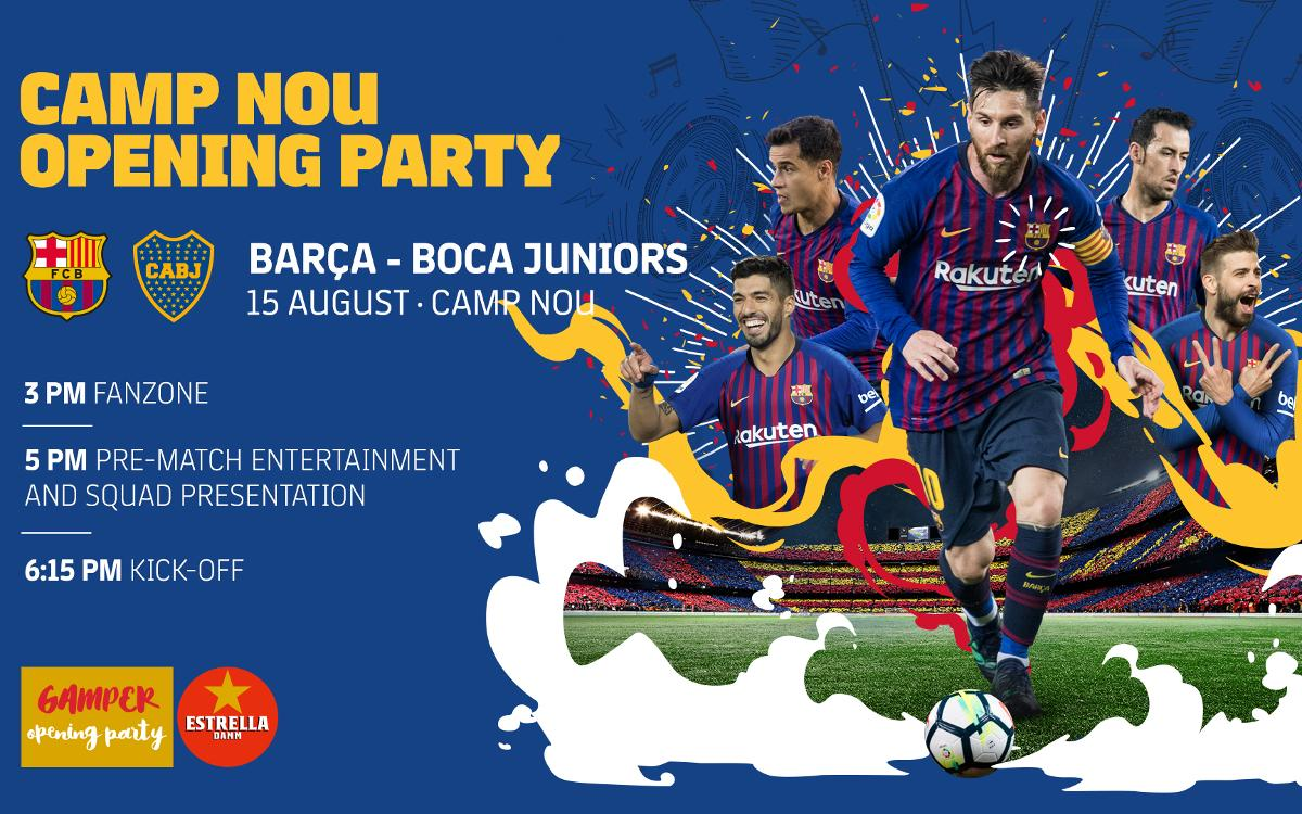 The tickets for the Joan Gamper Trophy are on sale from today