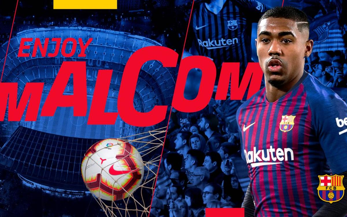 Agreement with Girondins de Bordeaux for the transfer of Malcom