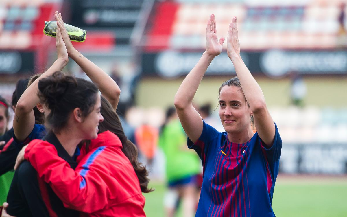 Marta Unzué, renovada i cedida a l'Athletic Club