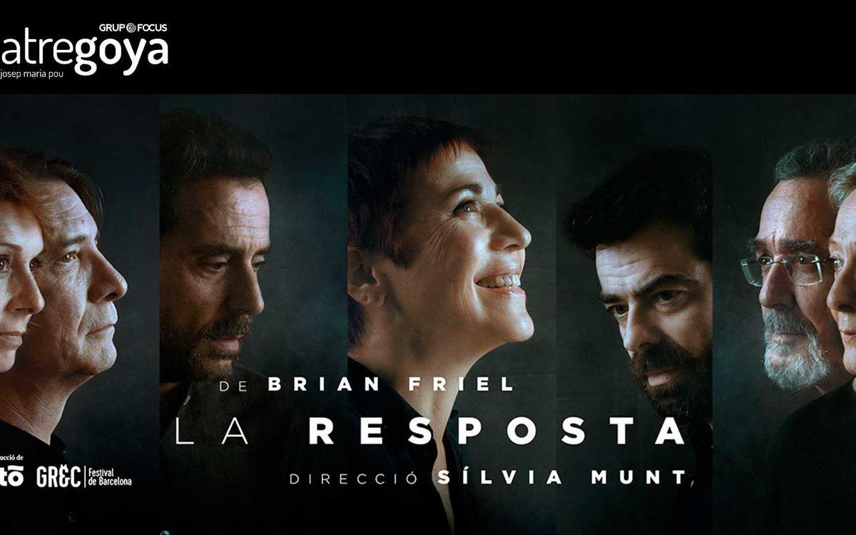 'La resposta', en el teatro Goya, con descuento para los socios