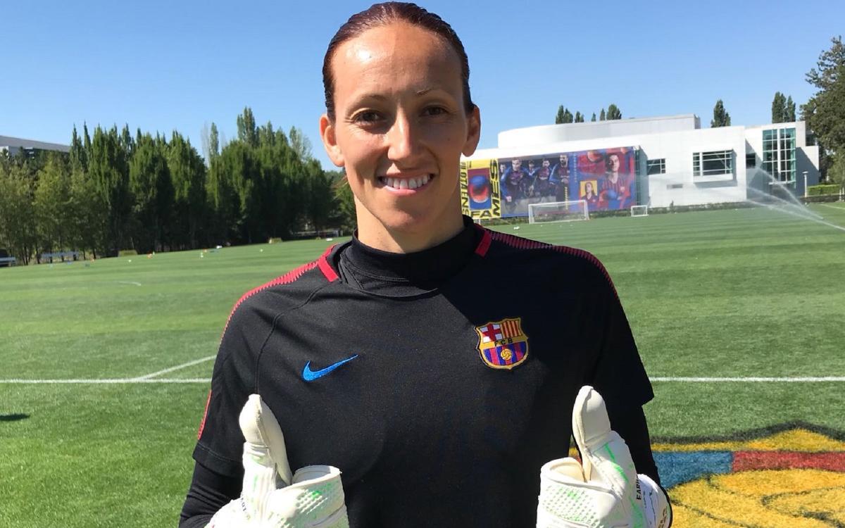 Pamela Tajonar: 'I feel really at home with the team'