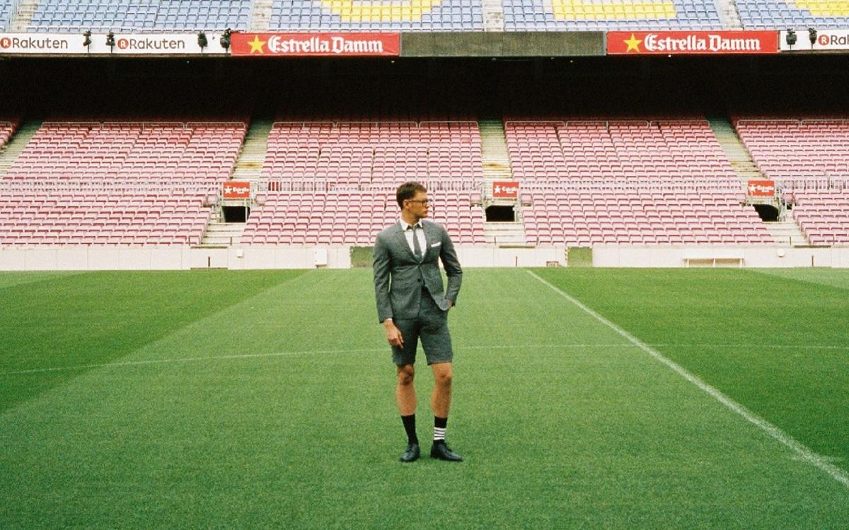 Thom Browne to dress the FC Barcelona first team