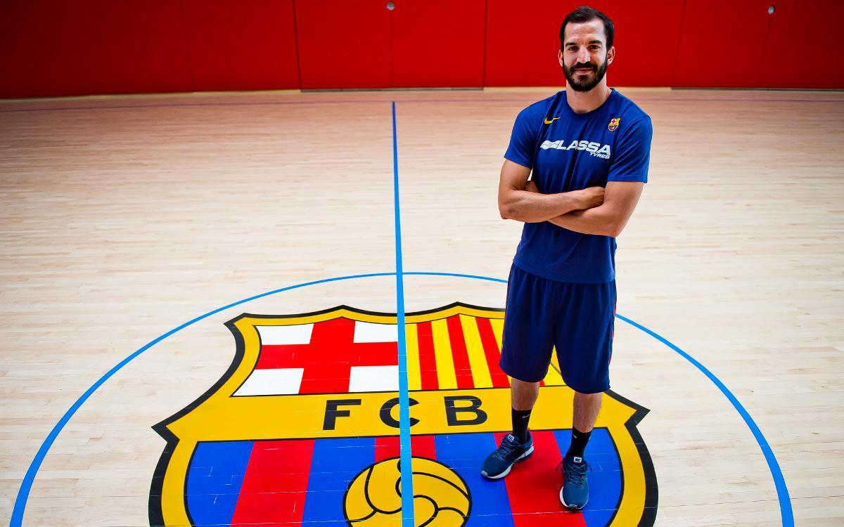 Pau Ribas seguirá en el Barça Lassa hasta 2021