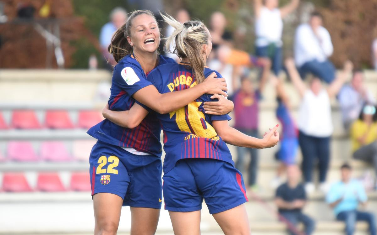 A year to the day, the arrival of Lieke Martens